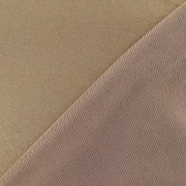 Tissu Lycra lamé doré x 10cm
