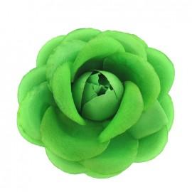♥ Broche/pince fleur fluo vert ♥