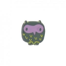 Button, little Owl - pine tree