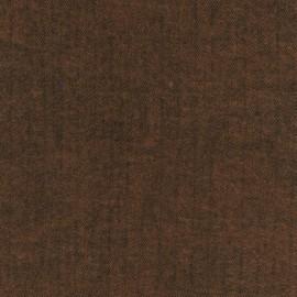 Tissu Flanelle Shetland Flannel Chevron Cinnamon x 10cm