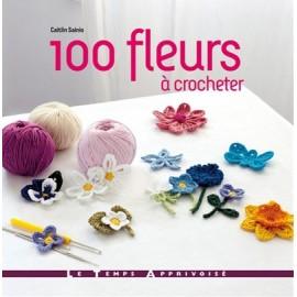 """Livre """"100 fleurs à crocheter"""""""