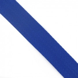 Polypropylene strap, herringbone 25 mm - navy