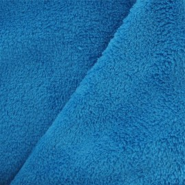 Baby's Security Blanket fabric - turquoise x 10cm