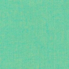 Tissu Lainage Shetland Flannel Chevron Chartreuse x 10cm