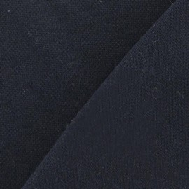 Heavy Viscose Fabric - Navy x 10cm