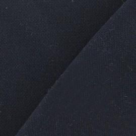 Tissu Viscose Lourde Marine x 10cm
