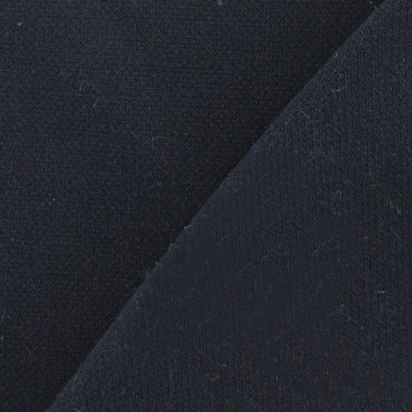 Heavy Viscose Fabric - Navy x 10cm