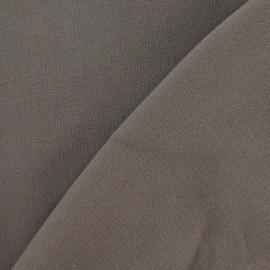 Tissu Viscose Lourde Brun x 10cm