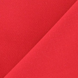 Heavy Viscose Fabric - Red x 10cm