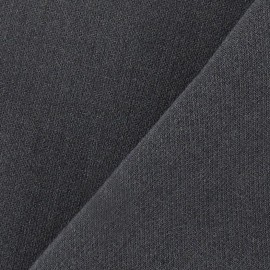 Heavy Viscose Fabric - Anthracite Grey x 10cm