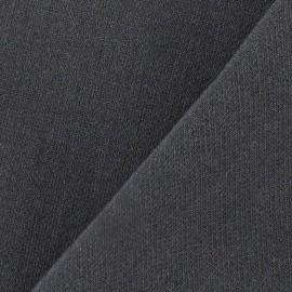 Heavy Viscose Fabric - Anthracite Grey x 10cm