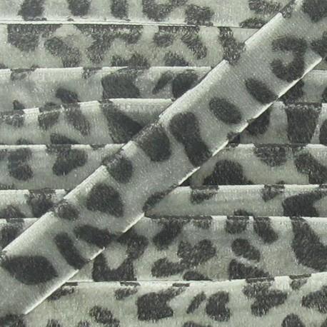 Velvet Ribbon, animal - Grey