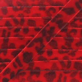 Velvet Ribbon, animal - Red