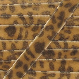 Velvet Ribbon, animal - Light Brown