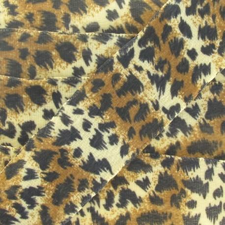 Ribbon Savanna, Printed Cheetah - brown