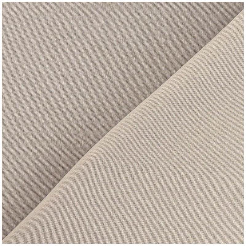 tissus pour rideaux tissu rideau occultant taupe frapp. Black Bedroom Furniture Sets. Home Design Ideas