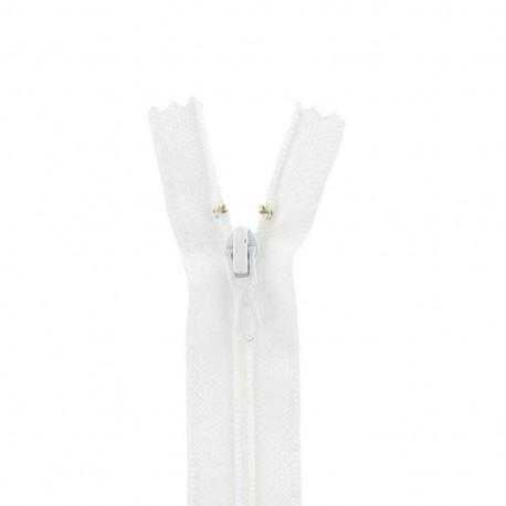 Fermeture Eclair® non séparable - blanc -