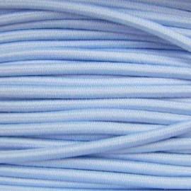 Fil élastique rond 3 mm ciel