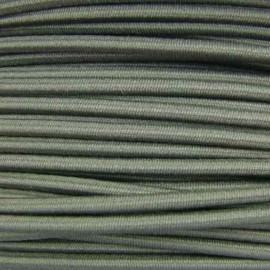 Fil élastique rond 3 mm kaki