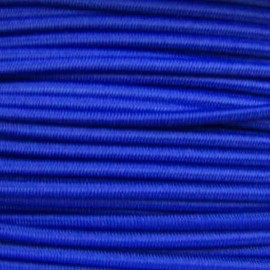 Rounded elastic thread 3 mm - navy