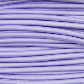 Rounded elastic thread 3 mm - mauve