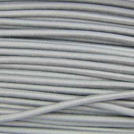 Rounded elastic thread 3 mm - grey
