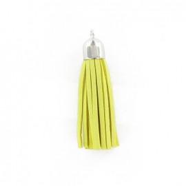 Buckskin Pompom - yellow