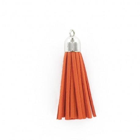Buckskin Pompom - orange