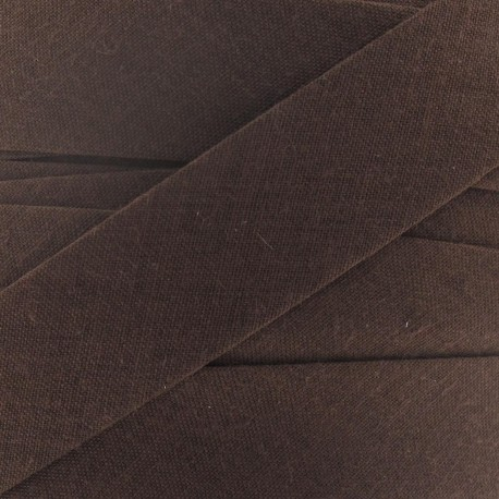 Multi-purpose-fabric Bias binding 20mm - brown