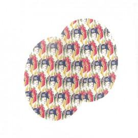Elbow patch Liberty Samols C - multicolored