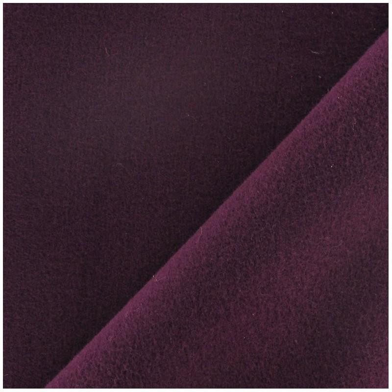 Tissu drap manteau violine x 10cm ma petite mercerie - Tissu pour drap ...