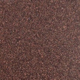 Tissu thermocollant paillettes marron