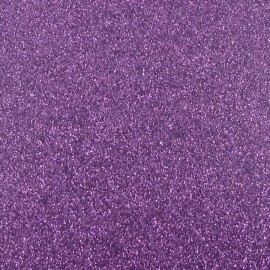 Feuille thermocollante paillettes lilas