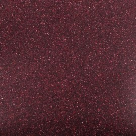 Spangled Fusible sheet - plum