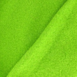 Boiled wool - lime green x 10cm