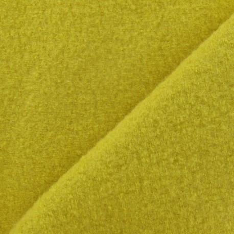 Boiled wool - mustard x 10cm