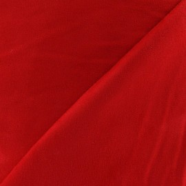 Suede Fabric - Red x 10cm