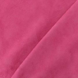 Suede Fabric - Solveig fuchsia x 10cm