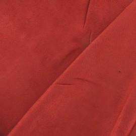 Suede Fabric - Solveig terracota x 10cm