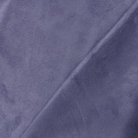 Tissu Suédine Solveig violet x 10cm
