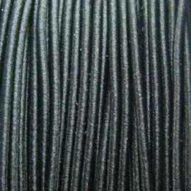 Elastic thread for hats 1,5 mm - black