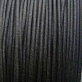 Fil élastique à chapeau 1.5 mm marron