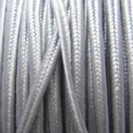 Soutache braid ribbon - grey