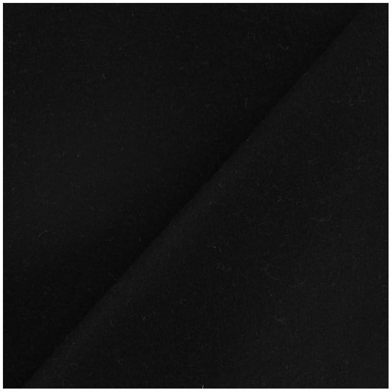 tissu drap de laine noir x 10cm ma petite mercerie. Black Bedroom Furniture Sets. Home Design Ideas