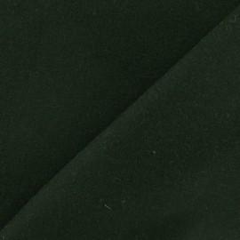 Wool fabric - military green x 10cm