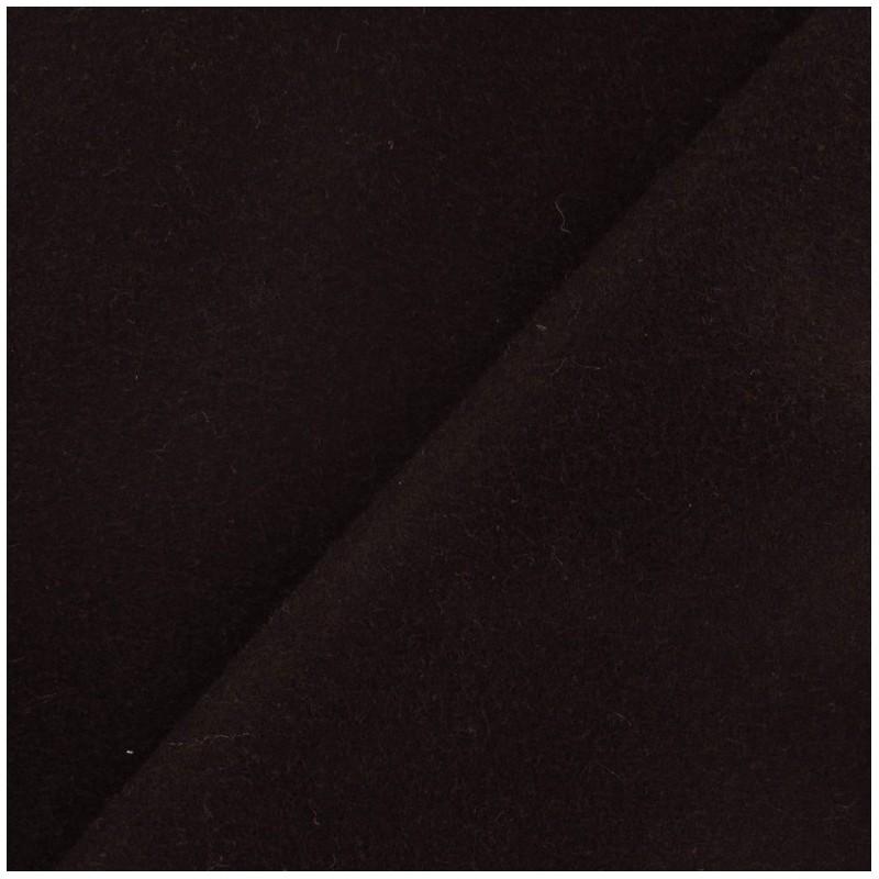 Tissu drap de laine marron x 10cm ma petite mercerie - Tissu pour drap ...