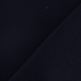 ♥ Only one piece 130 cm X 150 cm ♥ Wool broadcloth fabric - night blue