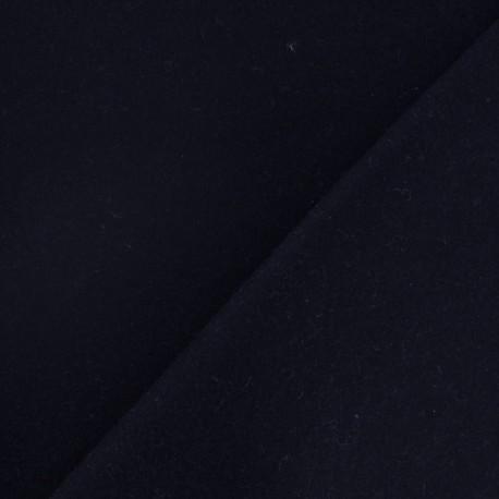 tissu drap de laine bleu nuit x 10cm ma petite mercerie. Black Bedroom Furniture Sets. Home Design Ideas