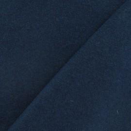 Tissu drap de laine bleu paon x 10cm