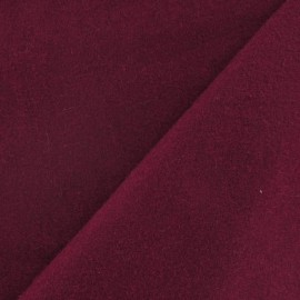 Wool fabric - raspberry x 10cm